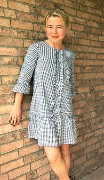 Ein Sommerkleid mit einigen Hindernissen…