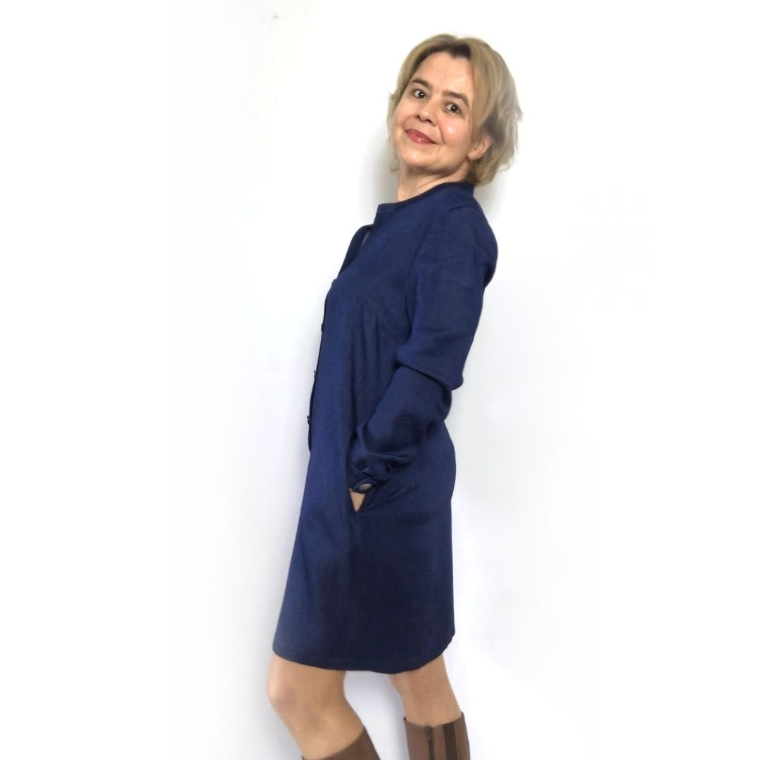 Neuer Blog, Umzug und ELSE als Hemdblusenkleid…